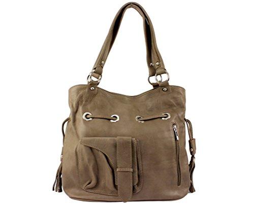 cuir a a sac cuir femme Plusieurs main cuir cuir sac main à sac Italie cuir sac sac Coloris Anny mode main Sac femme anny main Taupe a sac sac sac Clair cuir p6f8wxqp