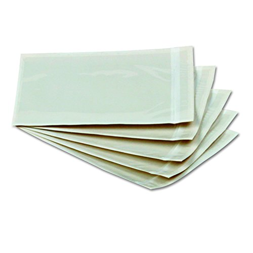 Front Self Adhesive Packing - Quality Park Front Packing List Envelopes, Self-Adhesive, Clear, 6 x 4.5, 1,000 per Box, (46996)