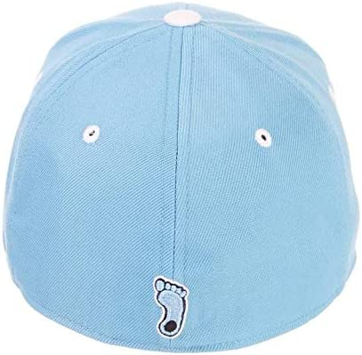 University of North Carolina UNC Tar Heels Light Blue DH NC Top Adult Mens//Womens//Youth Fitted Baseball Hat//Cap Size 7 1//8