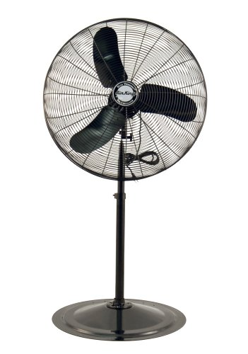 (Air King 9170 1/3 HP Industrial Grade Pedestal Fan, 30-Inch)