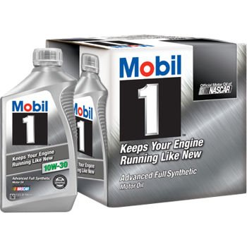 Mobil 1 94003 10W-30 Synthetic Motor Oil - 1 Quart (Pack of 6) Sae 10w30 Motor Oil