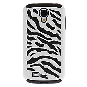 Pink Zebra Hybrid Silicone & PC Back Case Cover for Samsung Galaxy S4 I9500 --- COLOR:Pink
