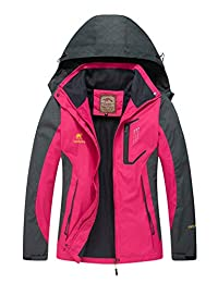 Diamond Candy Hooded Waterproof Jacket Softshell Women Sportswear