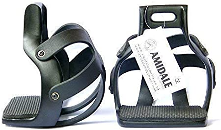/Étrier de s/écurit/é en forme de cage en aluminium Amidale pour lendurance flex ride