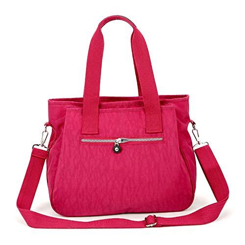 Per Tempo A Grandi Impermeabili Hot Pink Pannolini Il Borse Tracolla Sunonip Mummy Donna Nylonfamous Libero 4Ftqp750wc