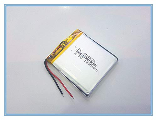 BEESCLOVER 3.7V,1400mAH,[604555] PLIB; Polymer Lithium ion/Li-ion Battery for dvr,GPS,mp3,mp4,Cell Phone,Speaker Show