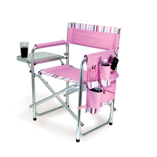 ONIVA - a Picnic Time brand Portable Folding Sports Chair, Pink ()