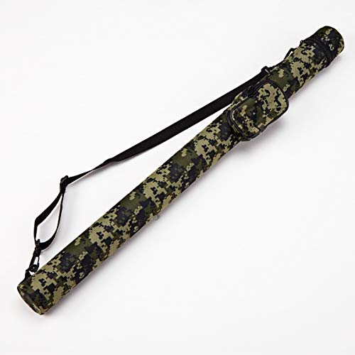 Collapsar 11 Hard Pool Cue Billiard Stick Camo Carrying Case -1B1S Camo Nylon Cases Available in 5 Colors (C001011)