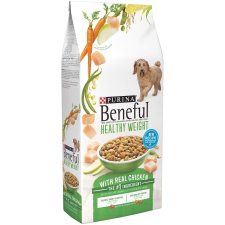 Purina Beneful Healthy Weight With Real Chicken Dry Dog Food - 31.1 lb. Bag (Pack of 3) by Purina Beneful