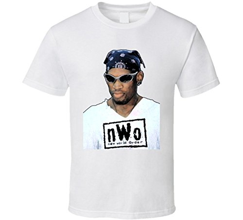 Dennis Rodman NWO WCW Wrestling T Shirt XL White