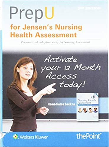 prepu for jensens nursing health assessment