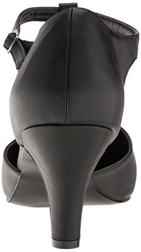 Leather Plataforma Pleaser Faux 415w Divine Mujer Blk wYErE0qx