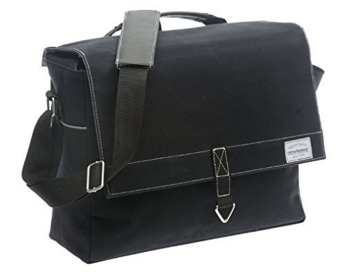 New Looxs Dock - Canvas Shoulder Bag - Black by New Looxs