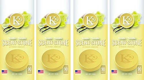Sterling Teal (K16013-4 K29 Stone 'Vanilla' Air Freshener, (Pack of 4)