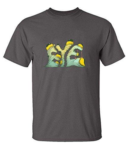 ReRabbit scared eye T-Shirt For Mens XS heavyGray