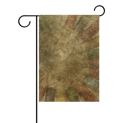 DNOVING Home Decorative Outdoor Double Sided Art Abstract Wa