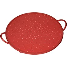 Kuhn Rikon 20081 Splatter Guard, Large, Red
