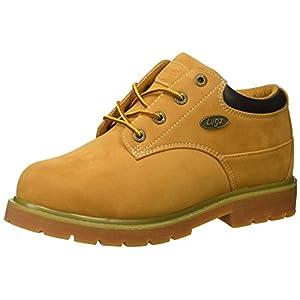 Lugz Men's Drifter Lo Steel Toe Fashion Boot, Golden Wheat/Bark/Tan/Gum, 12 D US