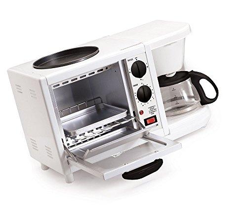 Green Kitchen Elite Cuisine Ebk 200 Maxi Matic 3 In 1 Multifunction Breakfast Center  White