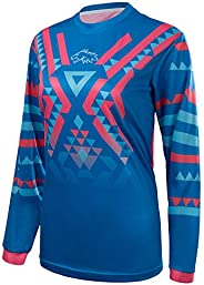 Wisdom Leaves Women's Cycling Jersey Long Sleeve Mountain Bike Shirt BMX Jersey Breathable/Moisture-Wic