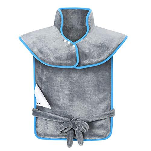 Manta Electrica Espalda y Cuello, Almohadilla Eléctrica Cervical 120W de 45-65°C Calentar Rápido