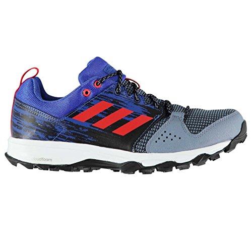Adidas Galaxy Trail running scarpe da uomo blu/rosso jogging ginnastica