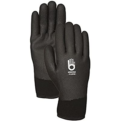 C4002BKXXL Bellingham C4002BKXXL Insulated Thermal Knit Work Glove HPT PVC Water Repellent Palm, XX-Large from LFS Gloves