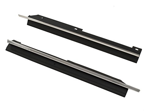 Yates Performance 1990-1993 Mustang Convertible Inner Quarter Window Weatherstrip Moldings - Pair