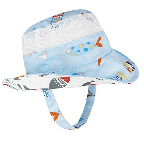 Hats & Caps Brim Adorable Accessories Sun Care Toddler Infant Sun Cap Summer Outdoor Baby Girl Beach Bucket Baby Visor Cotton Boys' Baby Clothing Mother & Kids