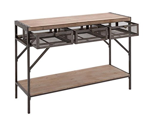 Deco 79 54486 Wood Metal Console, 43
