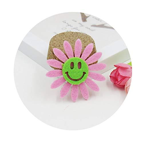 1PCS Lovely Sunflower Elastic Hair Bands Toys For Girls Handmade Bow Headband Scrunchy Kids Hair Acc