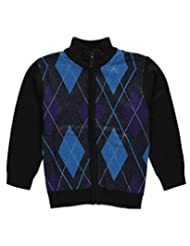 "American Legend Outfitters Little Boys' ""Argyle Access"" Zip-Up Sweater"