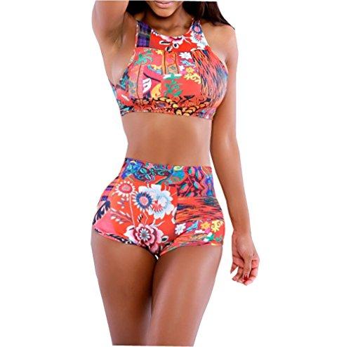 Womens Colorful Summer Swimsuit Swimwear Bathing Suit