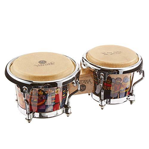 Latin Percussion LPM200-AW Santana Mini Tunable Wood Bongos