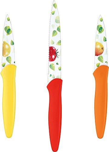 Cuisinart 3-pc. Printed Fruit Knife Set One Size