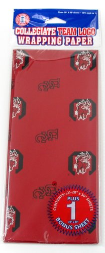 NCAA South Carolina Fighting Gamecocks Wrapping Paper