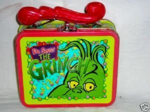Dr. Seuss the Grinch Who Stole Christmas Tin Lunch Box by Frankford Company