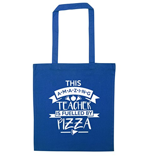 This Tote by Pizza Bag Teacher Flox Creative Fuelled Blue Amazing qRwCa6