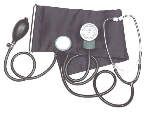 SPECIAL PACK OF 3-Aneroid Blood Pressure Kit w/Stethoscope by Marble Medical