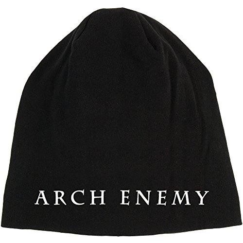 Arch Enemy Men's Logo Beanie Black (Arch Logo Cap)