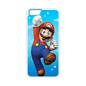iPhone 6 4.7 Inch Cell Phone Case White Super Mario Bros VGQ Custom Cell Phone Cases Protective