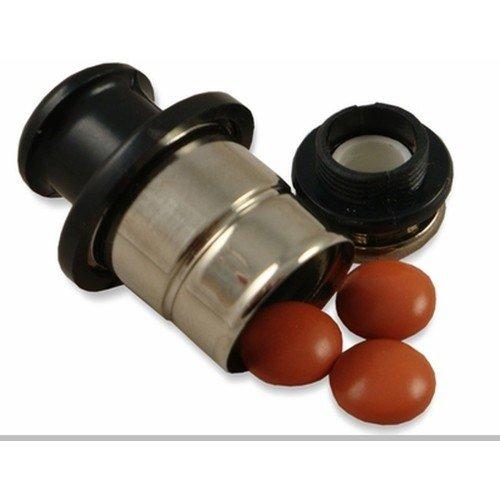 Car Lighter Shaped Metal Safe Secret Stash Diversion Pill Box Container
