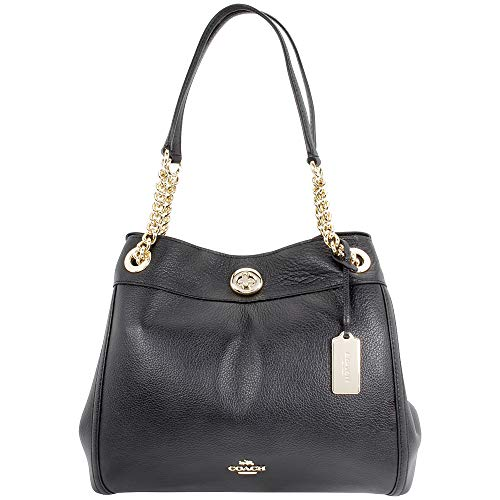 COACH Women's Turnlock Edie Li/Black One Size