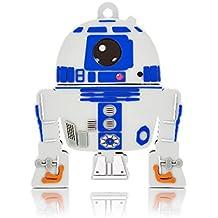 Pen Drive R2D2 - Star Wars - 8GB USB Leitura 10MB/s e Gravação 3MB/s Multilaser - PD036