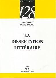 La dissertation littéraire par Jean Pappe