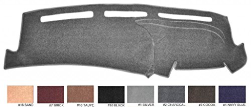 1998 -2001 Dodge Ram All Models - Dash Cover Dashboard Cover Mat Dash Pad ((Premium Custom Carpet - Charcoal)