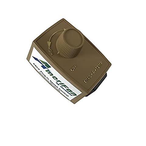 AmeriFan ASCP Speed Control for Any Brand Inline Duct Boosters up to 2.5 Amp, Exhaust Blower Fan Variable Dimmer Controller by Tjernlund, 120V Supply - Quiet Electronic Low Voltage Dimmer