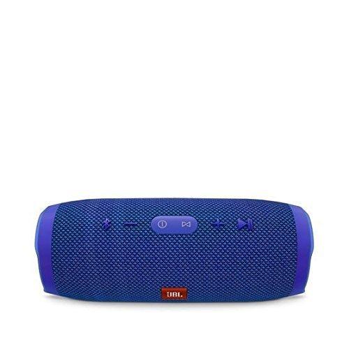 Price comparison product image JBL Charge 3 Waterproof Bluetooth Speaker -Blue (Certified Refurbished)