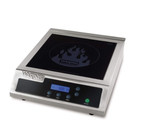 Double With Timer Range (Waring Commercial WIH400 Hi-Power Induction Electric Countertop Range Burner)