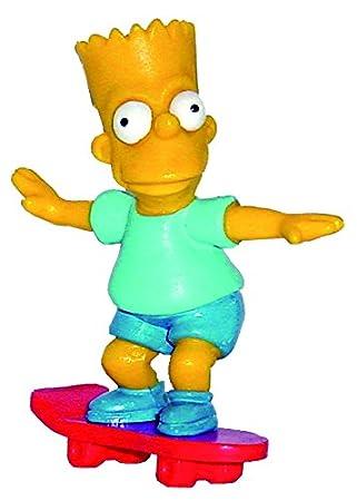 esJuguetes Y Juegos Simpson Bartcomansi Figura Y23149Amazon UzVMpSq
